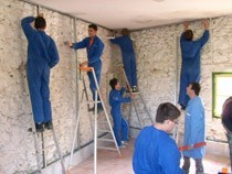 ремонт стен помещений Чита